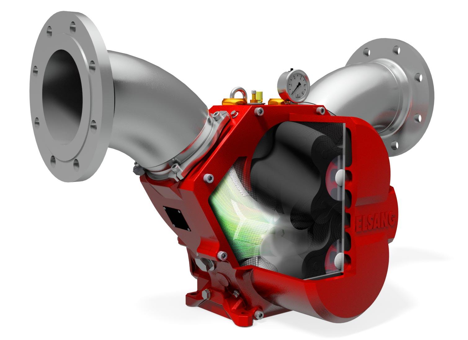rotary-lobe pump image
